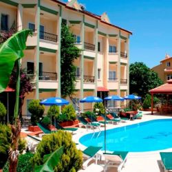 In Turunc Village 22 Apartment Rooms Near The Center And Sea Swimming Pool Bar